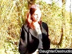 young french girl team-fucked by three guys