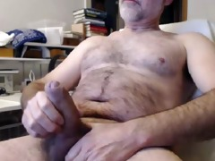 hairy dad large thick uncut beautiful cock