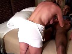 milf copulates juvenile black man (creampie) -