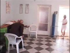 mature guy fucks young nurse