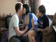 sweet-looking teen angel takes hard knob