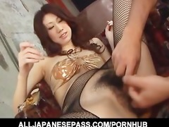 fuuka takanashis big tits sway to and fro as she