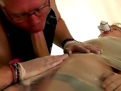 twink movie strapped down and at the grace of his
