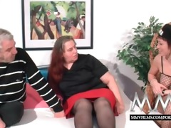 mmv films german wench helping out a plump mature