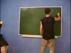 geometry teacher seduces juvenile guy.
