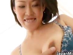 ayaka oriental milf widens her legs part5