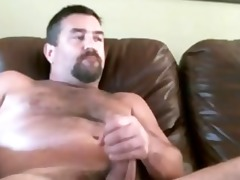 dad with a big dong on web camera