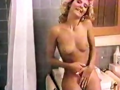 ginger lynn steamy shower blond classic