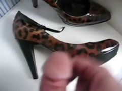 mother in law high heels jerking