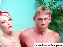 femdom cuckold acquires humiliated by candy monroe