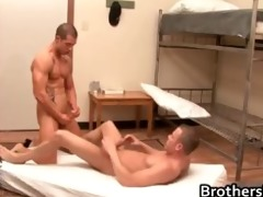brothers horny boyfriend gets schlong part1