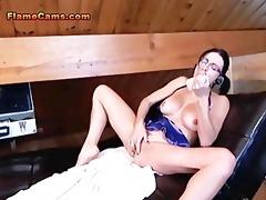 slut wife anal cam show