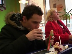 fast food granny drilled