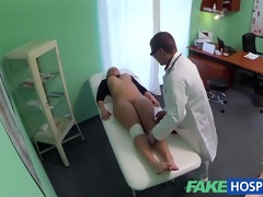 fakehospital thick nice-looking blonde lets the