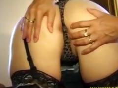 2 milf ass-fucked