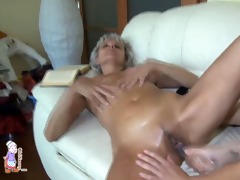 old nanny: corpulent lesbo grandma fuck very sexy