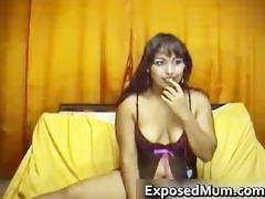 milf in sexy underclothing shows mambos part1