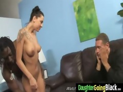 young daughter with nice a-hole fucked by a black