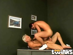 firm bodied twink casper riding anally a huge