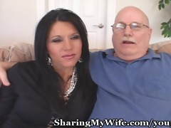 mature housewife seduces younger man to turn on