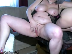 oldnanny hot youthful angel playing with old man