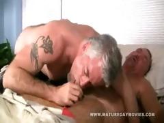 muscular silverdaddies fucking each other