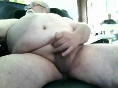 overweight dad - santa bear