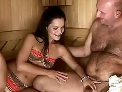 sandra rodriguez gets fucked by grand-dad