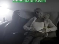 milf enjoys herself on a couch