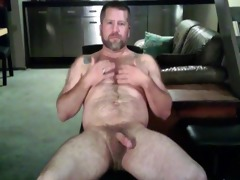 wanking dad bear 3