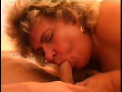 chap fucks older blondes biggest tits