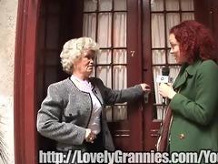 golden granny angel gets rammed