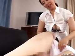 milf in petticoat giving oral job getting her