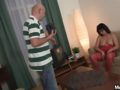 he finds threesome porn movie with his parents
