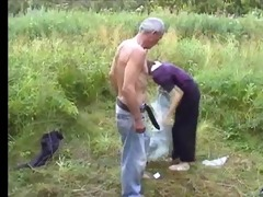 ugliest oldman copulates anorexic girl in the