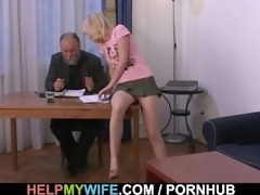 his young wife is lust for hard dick