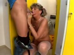 large boob mom