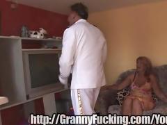 granny moans in pleasure