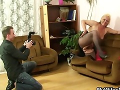 she is away and he is banging mother-in-law