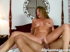super horny milf craves younger cock