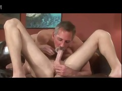 grey beard old daddy jay taylor kiss take up with