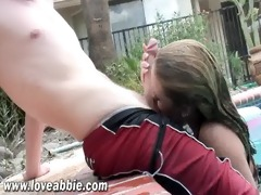 hot 18 year old legal age teenager engulfing and