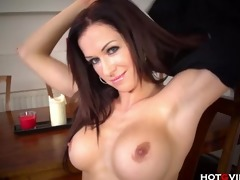 breasty milf has an orgasmic seizure