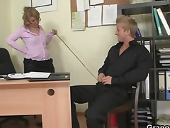 mature slut enjoys riding his big rod