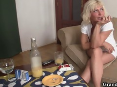 great some with sexy mature blonde