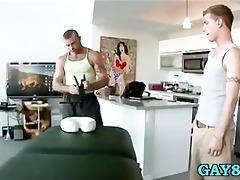 old masseur does juvenile client