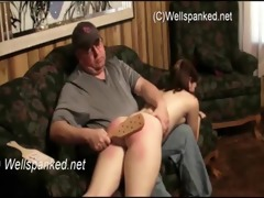 dad and daughter fuck on the daybed