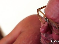 horny grandad and his younger girlfriend