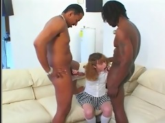 small legal age teenager molly receives black
