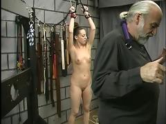young tattooed sadomasochism sufferer girl